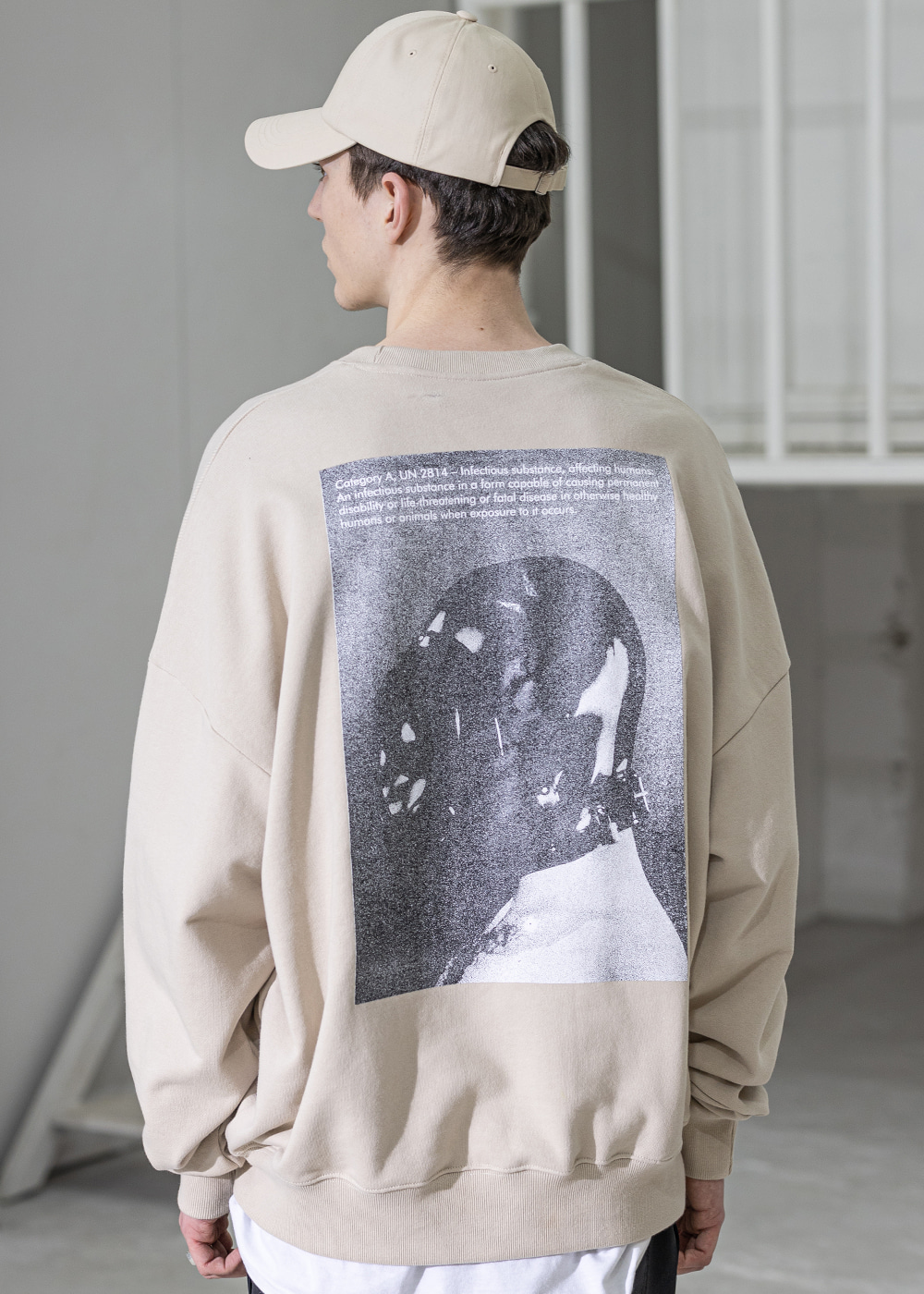 CLASSIFICATION OVERSIZED CREWNECK MSZCR001-BG