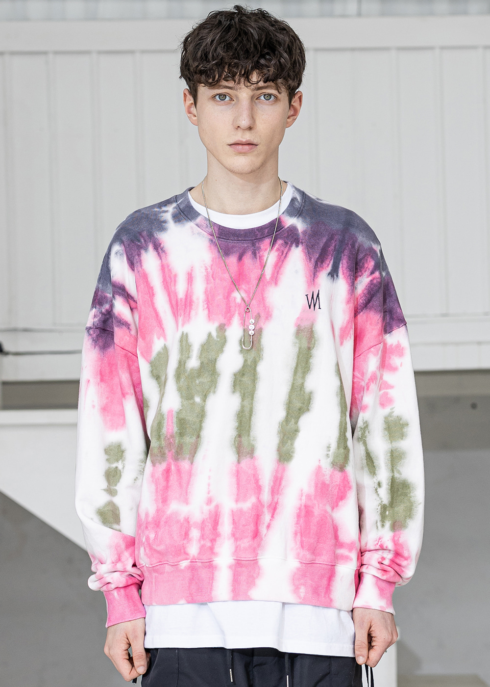 BIOLOGICAL TYE-DYE CREWNECK MSZCR002-PK