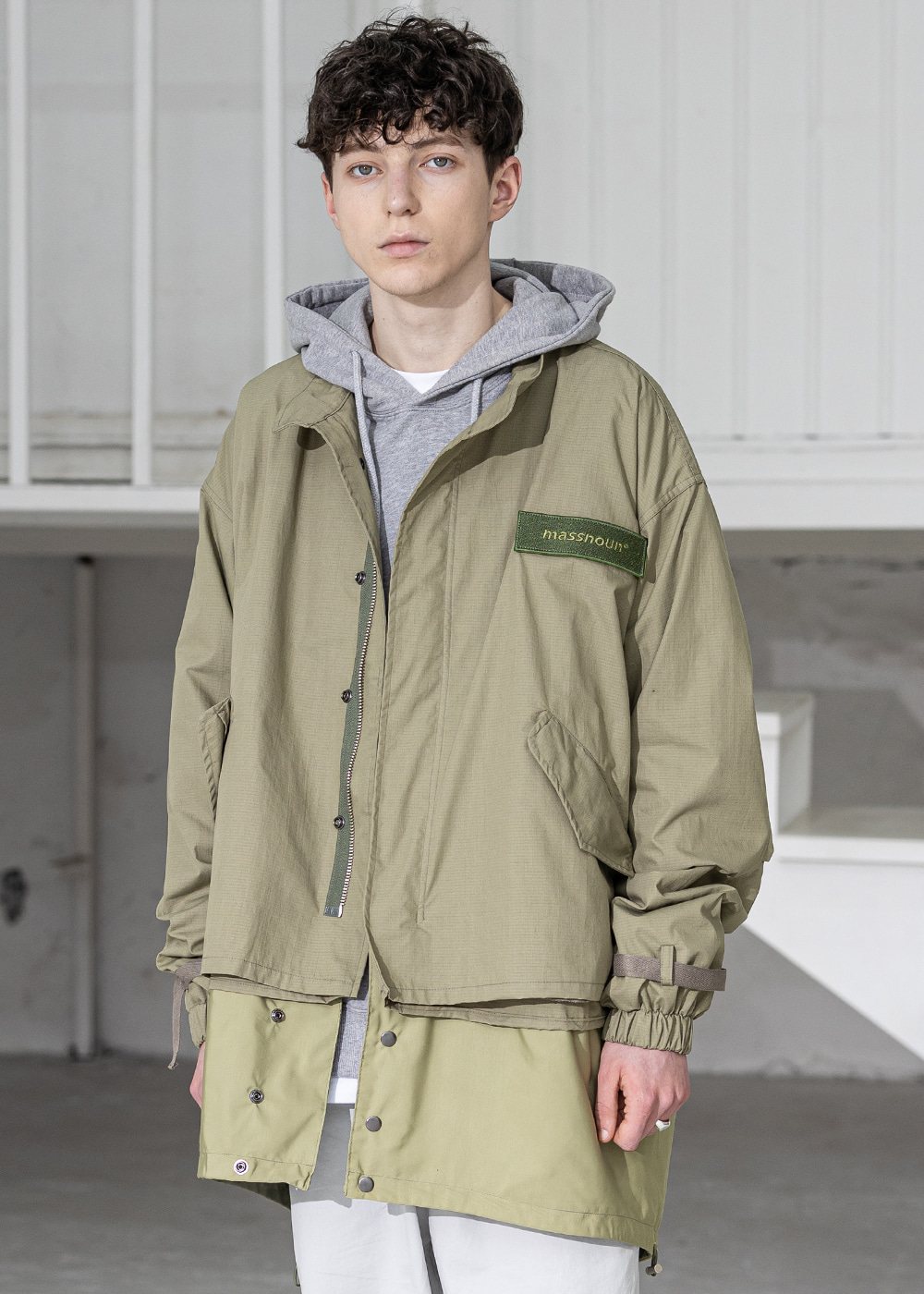 DETACHABLE M-51 FISHTAIL PARKA MSZCT001-KK