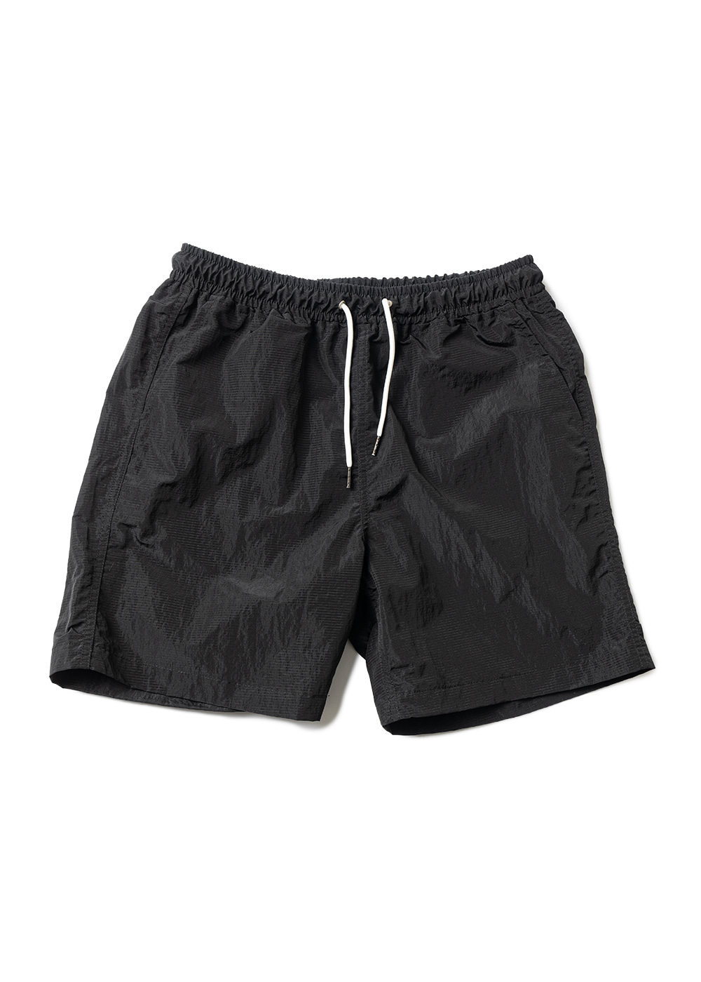 NYLON METAL SHORT PANTS MUZSP004-BK