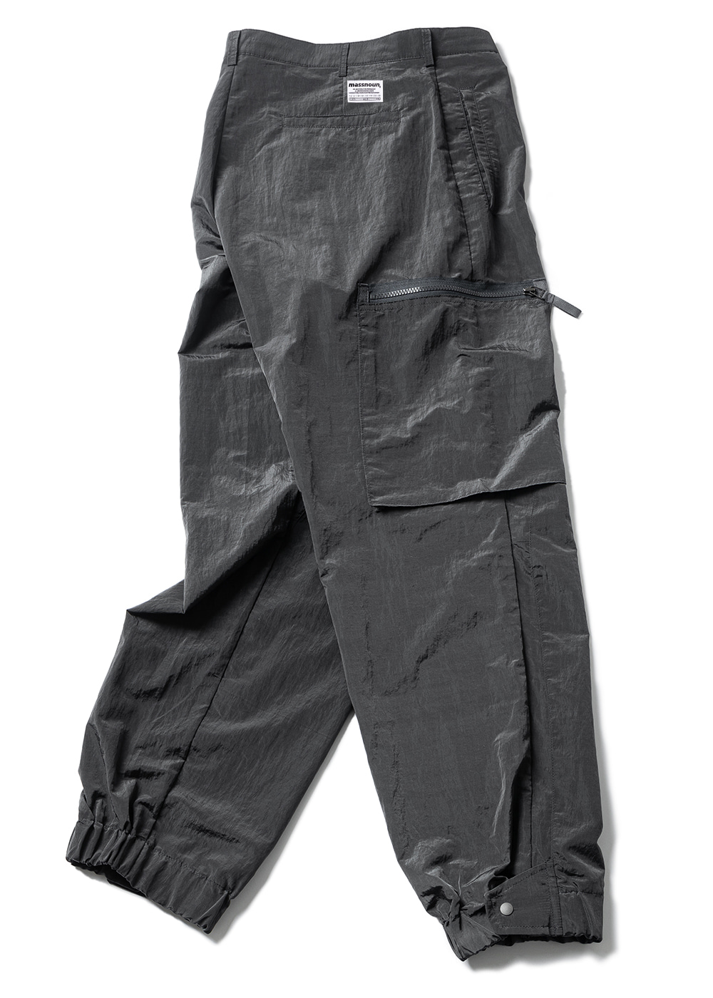 NYLON METAL SIGNATURE CARGO PANTS MUZTP001-DG